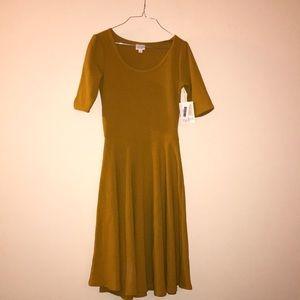 NWT Mustard Yellow Nicole Dress